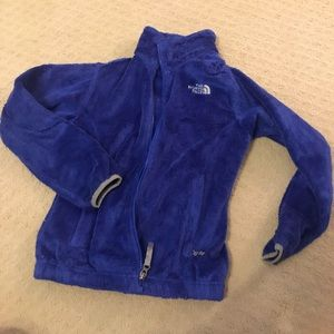 Girls north face jacket, pre owned